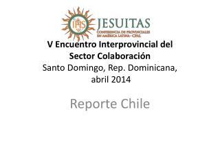 Reporte Chile