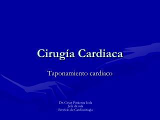 Cirugía Cardiaca