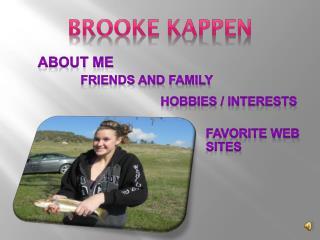 Brooke  kappen