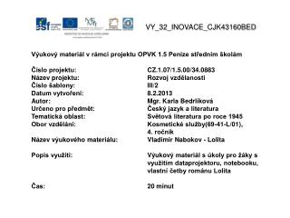 V Y_32_INOVACE_ CJK43160BED
