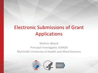 Electronic Submissions of Grant Applications