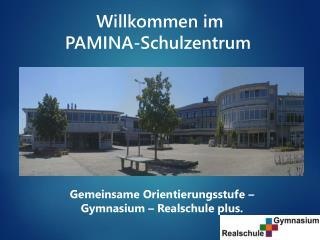Willkommen im  PAMINA-Schulzentrum