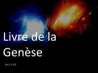 Livre de la Genèse