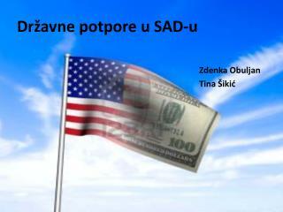 Državne potpore u SAD-u
