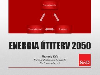 ENERGIA ÚTITERV 2050