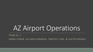AZ Airport Operations