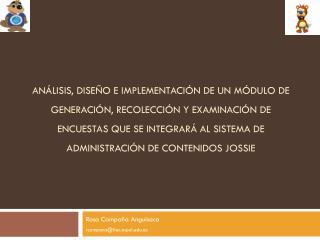 Rosa  Campaña  Anguisaca rcampana@fiec.espol.ec