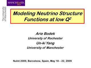 Modeling Neutrino Structure Functions at low Q 2