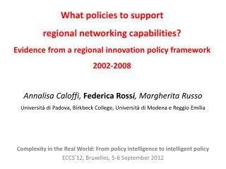 Introduction General features of a regional  policy_SPD  2000-2006  (2002-2008)