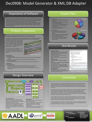 Model Generator Functional Requirements