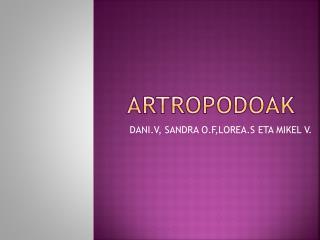 ARTROPODOAK