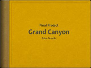 Final Project Grand Canyon