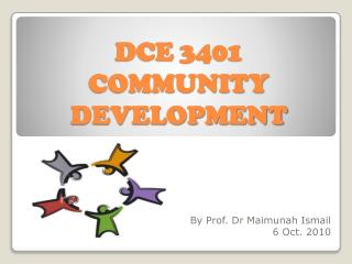 DCE 3401 COMMUNITY DEVELOPMENT
