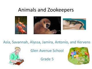 Animals and Zookeepers