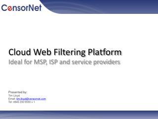 Cloud Web Filtering Platform