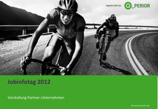 Jobinfotag 2012