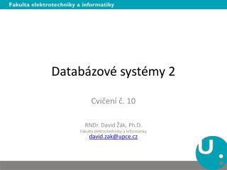Datab�zov� syst�my 2