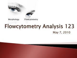 Flowcytometry  Analysis 123
