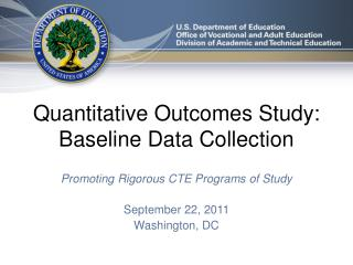 Quantitative Outcomes Study: Baseline Data Collection