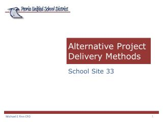 Alternative Project Delivery Methods