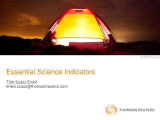 Essential Science Indicators