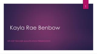 Kayla Rae Benbow