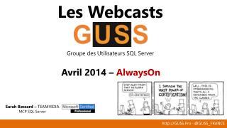 Les Webcasts