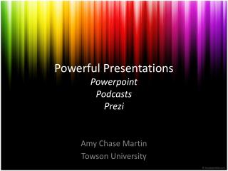 Powerful Presentations Powerpoint Podcasts Prezi