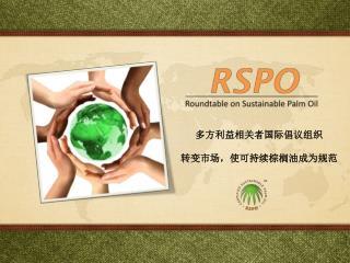 多方利益相关者国际倡议组织 转变市场,使可持续棕榈油成为规范