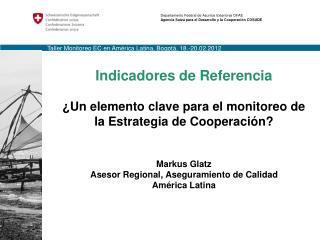 Taller  Monitoreo  EC en  América  Latina, Bogotá, 18.-20.02.2012