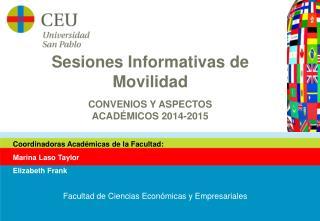 Sesiones Informativas  de  Movilidad