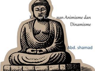 Kons ep Ketuha nan Animisme dan Dinamisme