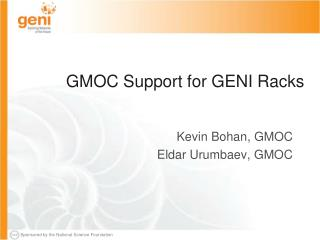 GMOC Support for GENI Racks