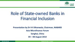 Role of State-owned Banks in Financial Inclusion