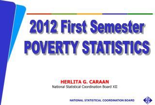 HERLITA G. CARAAN National Statistical Coordination Board  XII