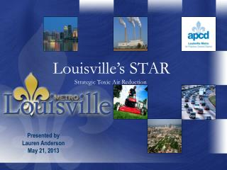 Louisville's STAR Strategic Toxic  Air Reduction