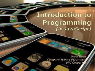Introduction to Programming (in JavaScript)