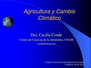 Agricultura y Cambio Clim tico