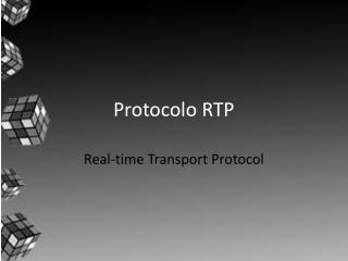 Protocolo RTP