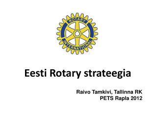 Eesti  Rotary  strateegia
