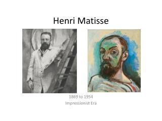 The Impressionist Period