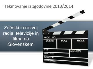 Tekmovanje iz zgodovine 2013/2014