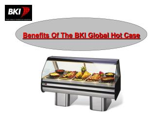 Benefits Of The BKI Global Hot Case