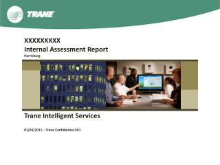 XXXXXXXXX Internal Assessment Report Harrisburg