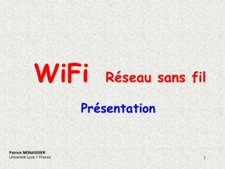 WiFi  R seau sans fil