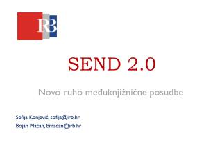 SEND 2.0