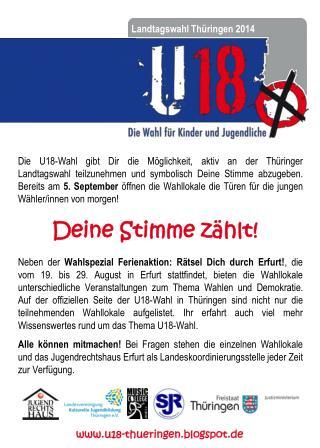 Landtagswahl Th�ringen 2014