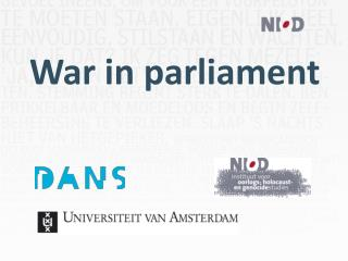 War in  parliament
