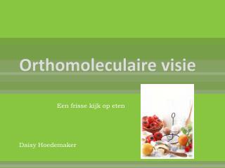 Orthomoleculaire visie