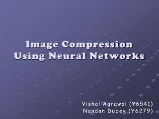 Image Compression Using Neural Networks
